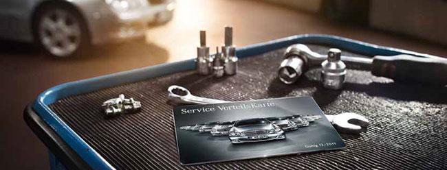 jetzt clever sein und mit mercedes-benz service vorteilskarte echte