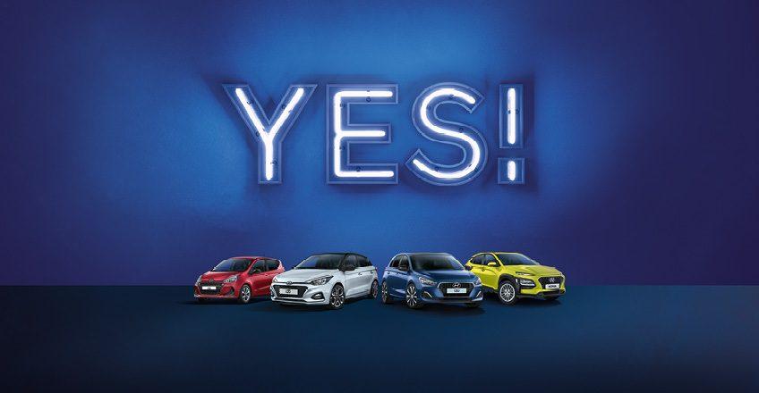 Hyundai Sondermodelle: Sag Ja zu YES!