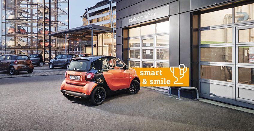 smart & smile: Kubina Carcenter für Service ausgezeichnet