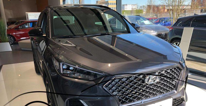 Erst heute Morgen von Hyundai präsentiert und schon jetzt gibt es ihn live in un…