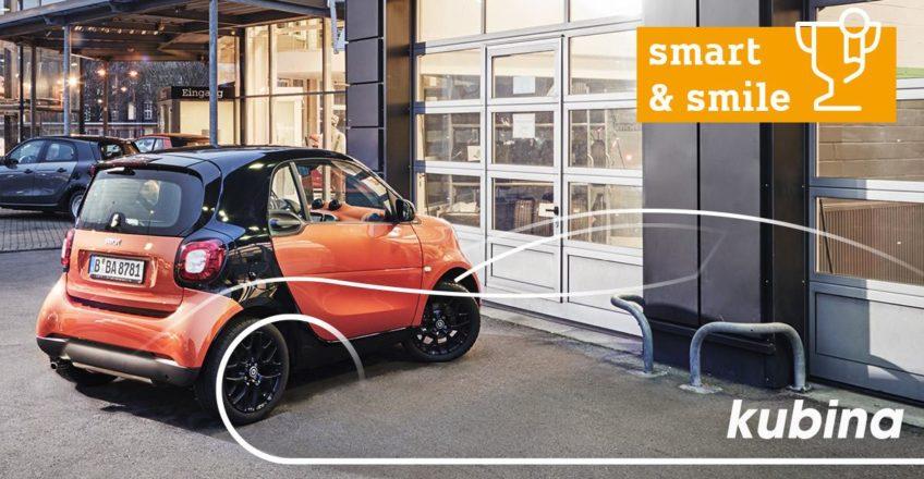 Warum Kubina-Kunden immer lächeln? Na, weil sie in unserem Carcenter in Köln-Marsdorf immer den best…