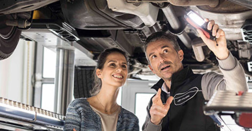 Frühlingshafte Service- und Teileangebote für Ihren Hyundai • smart und Mercedes Center