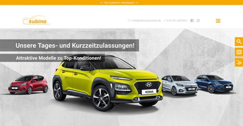 Kubina – Hyundai, Infiniti, smart, Mercedes-Benz