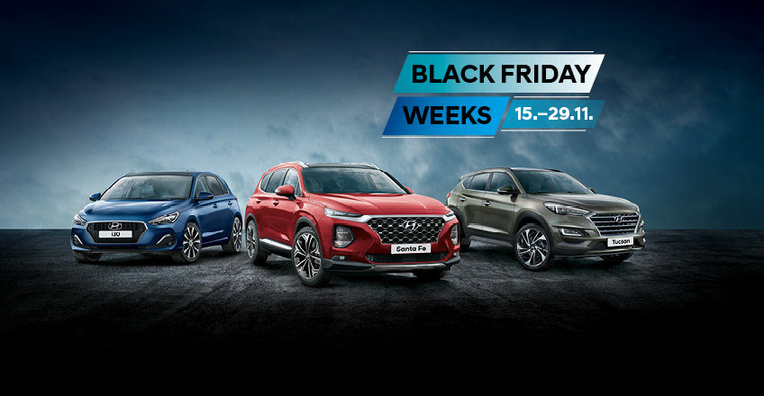 Black Friday Weeks: Top-Hyundai-Modelle zum Aktionspreis