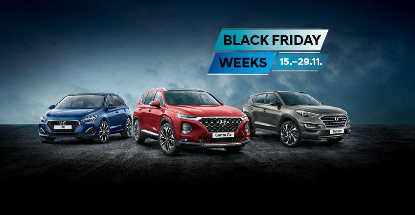 Black Friday Weeks: Top-Hyundai-Modelle zum Aktionspreis