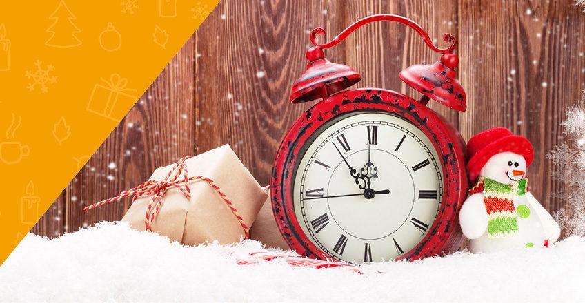 Weihnachtspause: Geänderte Öffnungszeiten während der Feiertage