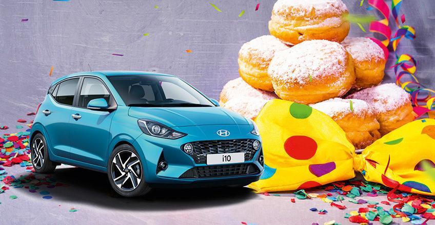 Jecke Markteinführung Hyundai i10