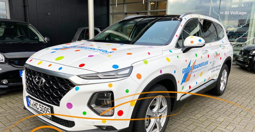 Und der nächste jecke Hyundai von Kubina steht bereit und freut sich schon eine tolle Session mit de…