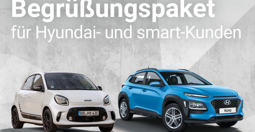 Wir feiern das neue Jahr und haben ein tolles Servicepaket für alle Hyundai- und smart-Kunden gepack…