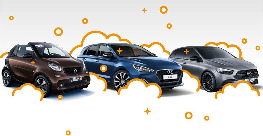 Blitz-blanke Autos mit der Kubina Carcenter Autopflege