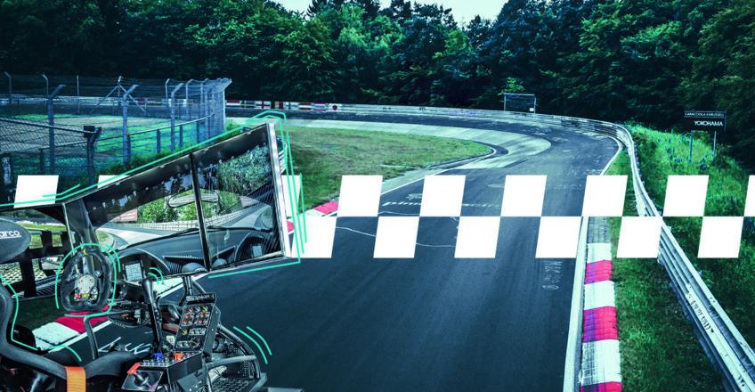 Rennsport-Simulator: Mit Kubina sim-racing über die virtuelle Strecke rasen