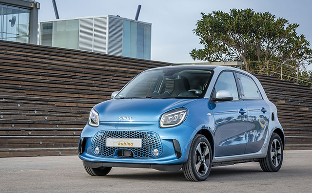 smart EQ forfour Elektroauto